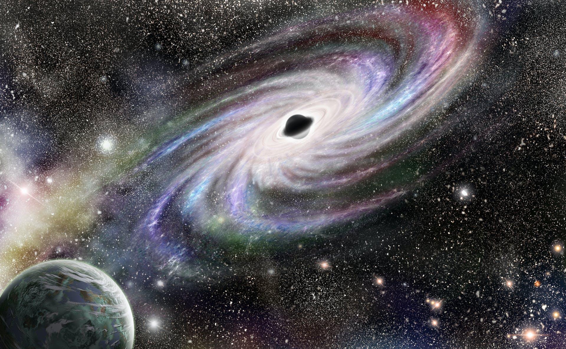 6cbde4f7967 Svarta hål punkterar vårt universum | illvet.se