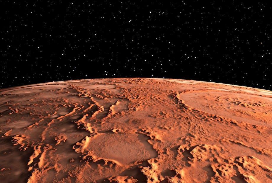 Mars Painovoima