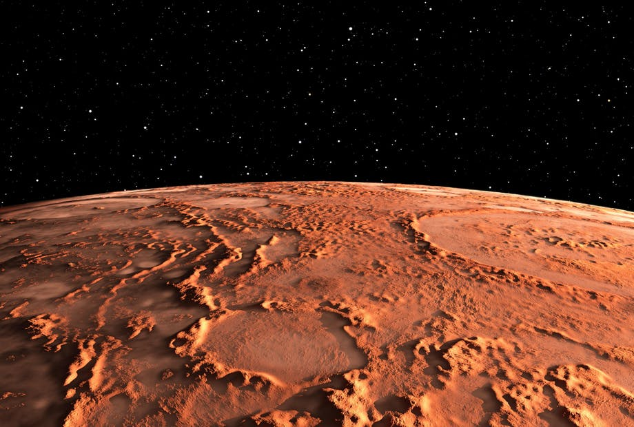 Mars planeet