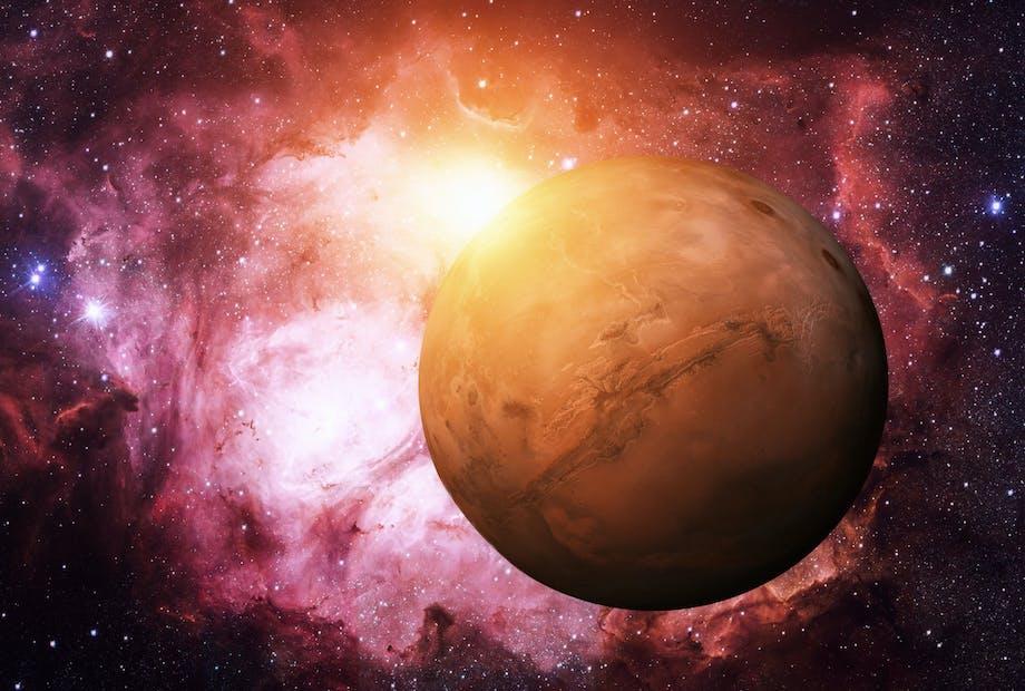 Mars - Feiten over Mars