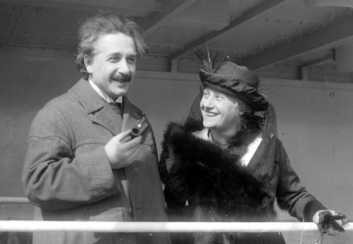 Albert Einstein M87