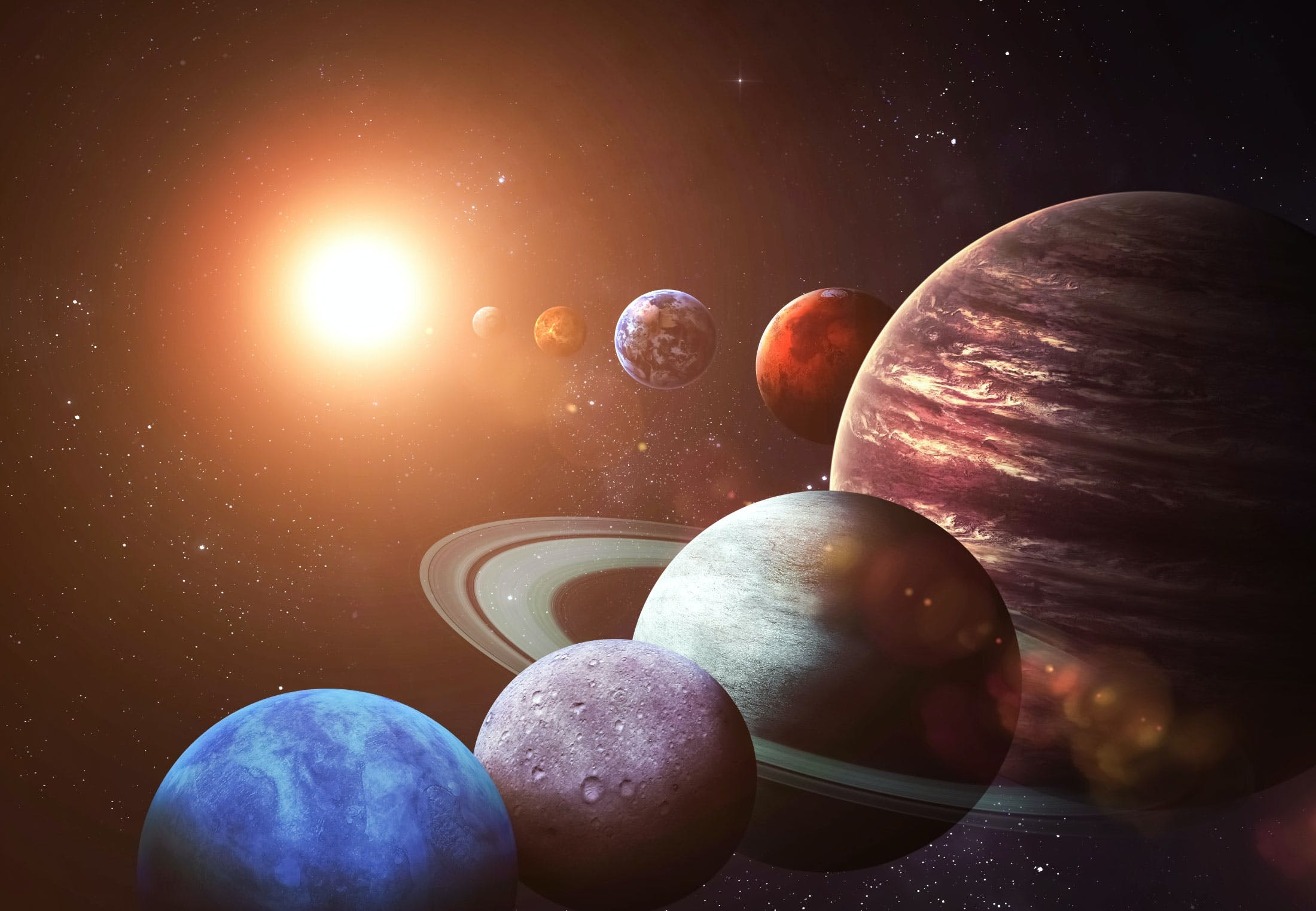 Planeter i solsystemet