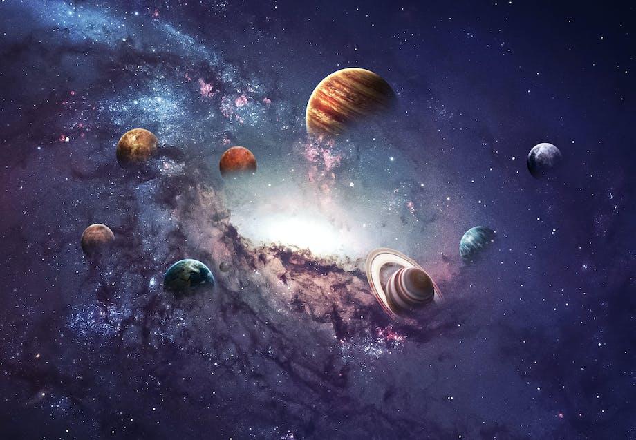 Feiten over het zonnestelsel