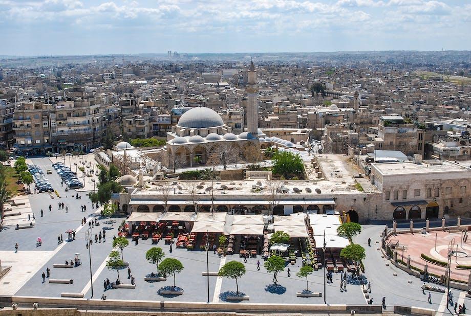 Aleppo, Syrien - den 4. ældste beboede by i verden.