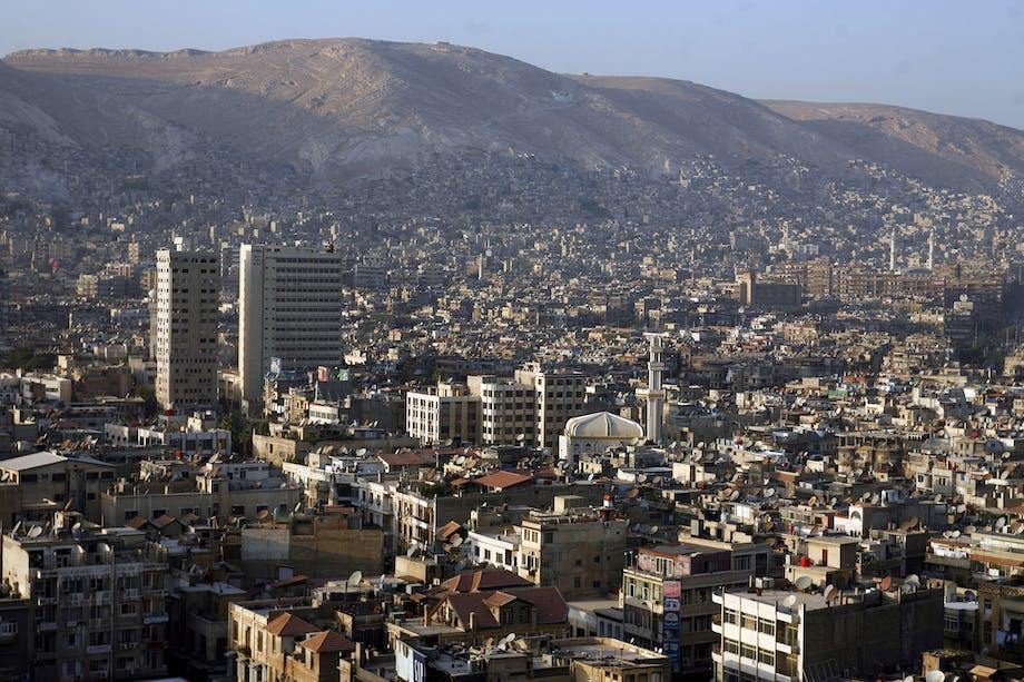 Damaskus, Syrien - den 3. ældste beboede by i verden.