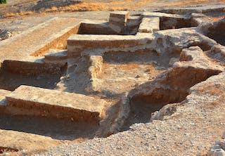 Tell es-Sultan i Jeriko, Vestbredden - den ældste beboede by i verden.