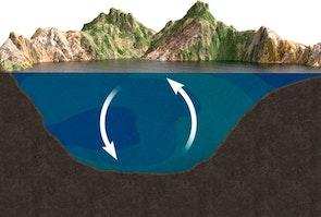 Tungt vand skaber dynamik i søer - forår/efterår