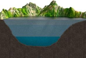Tungt vand skaber dynamik i søer - sommer