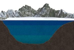 Tungt vand skaber dynamik i søer - vinter