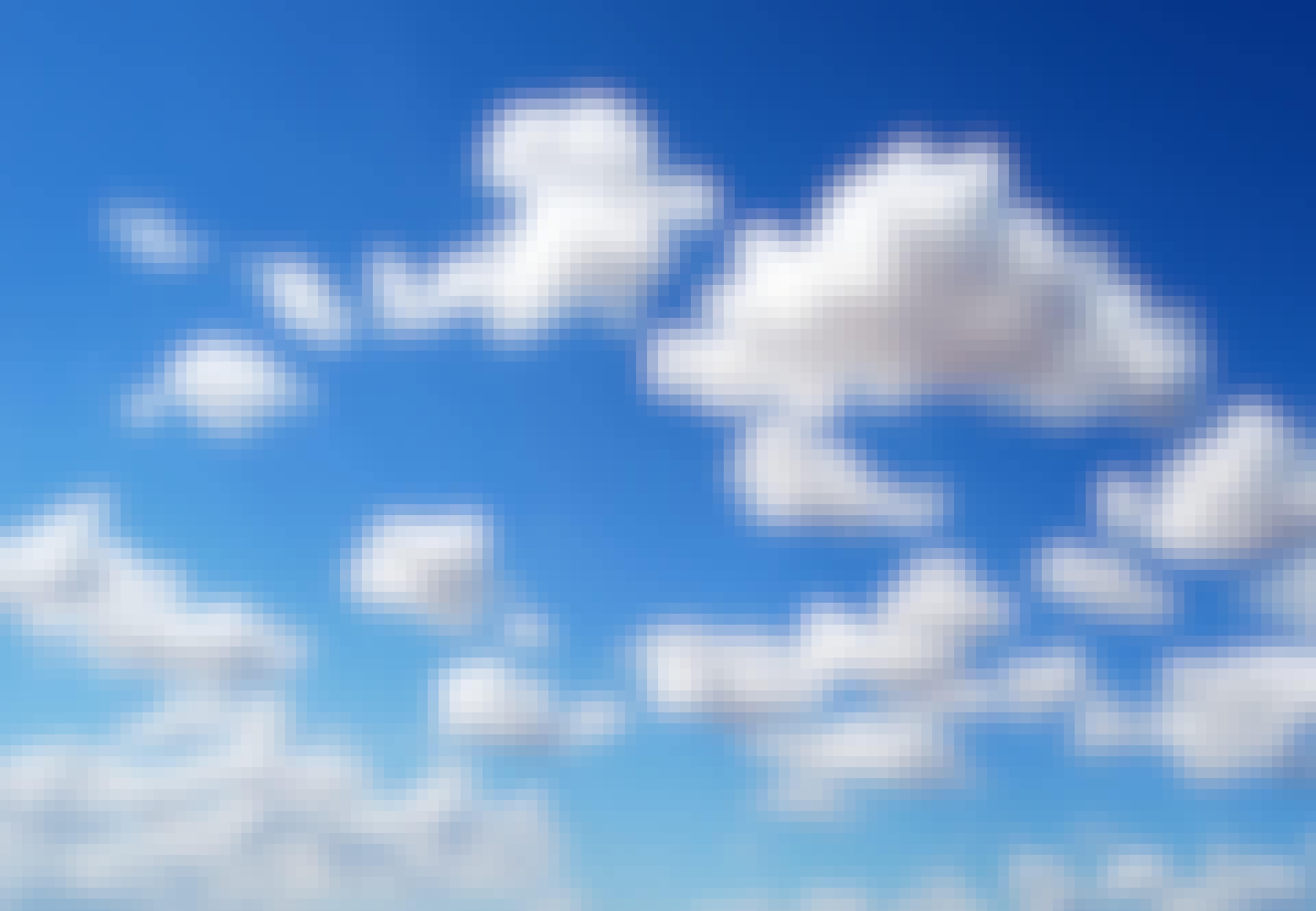 Himlens blå farve kommer af lysets spredning.