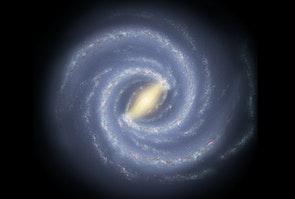Mælkevejen er en bjælkespiralgalakse 100.000 lysår væk med mindst 200 mia. stjerner.