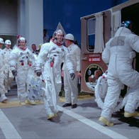 Astronautit valmistautuvat Apollo 11 -lentoon