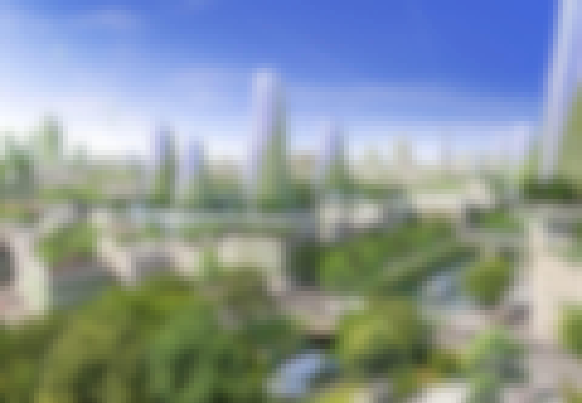 Sådan kan fremtidens by og klima se ud, hvis vi skifter til grøn, bæredygtig omstilling.