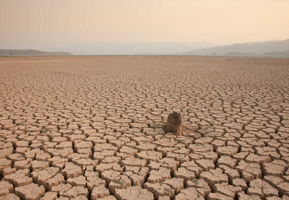 Global uppvärmning kan leda till en torr och karg värld