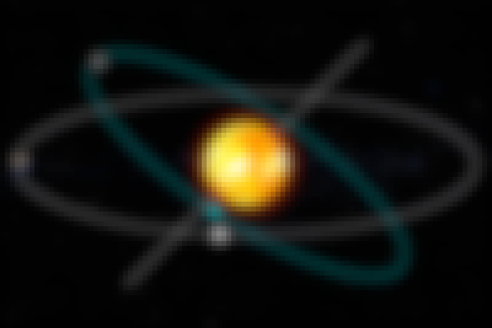 Merkurs og Jordens bane mødes på knudelinjen.