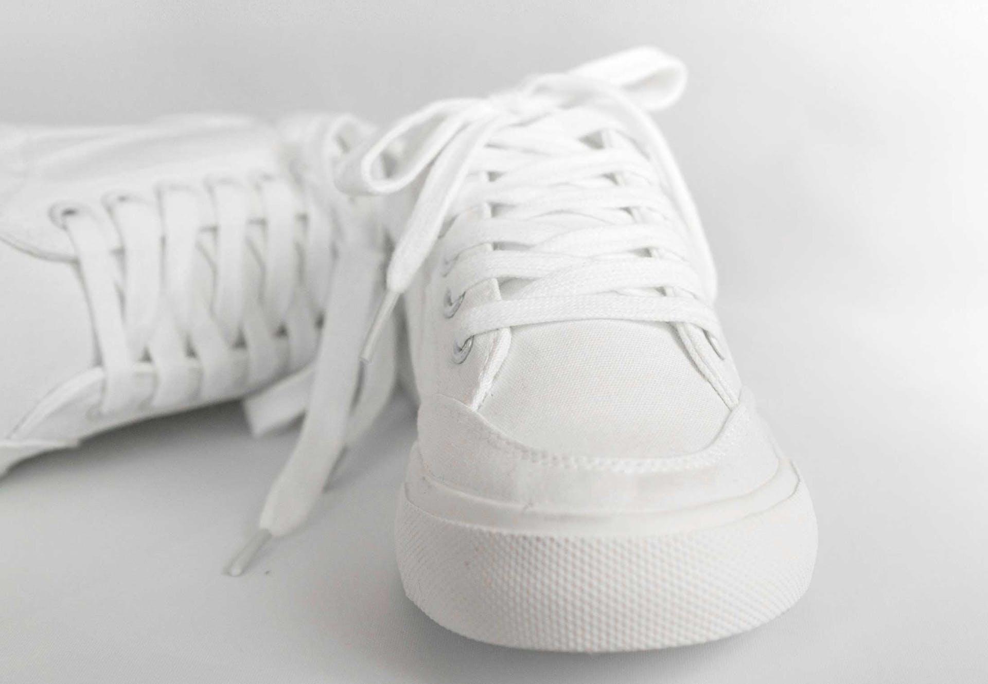 Hvide sko