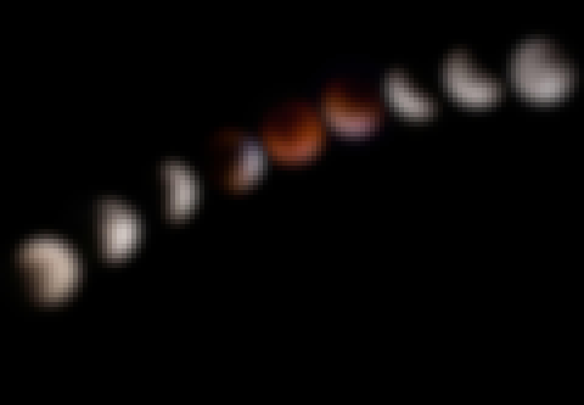 Total månförmörkelse skapar en blodmåne