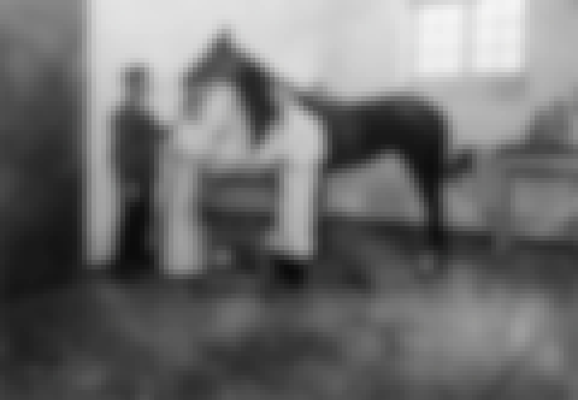 Læger årelader en hest for at finde kuren mod difteri.