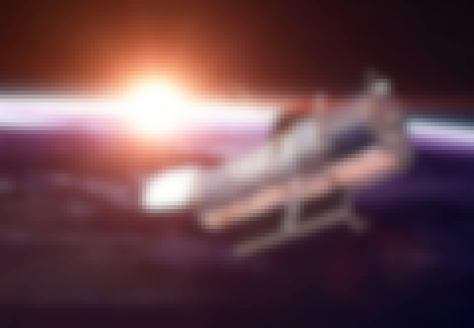 Hubble-teleskopet i kredsløb om Jorden