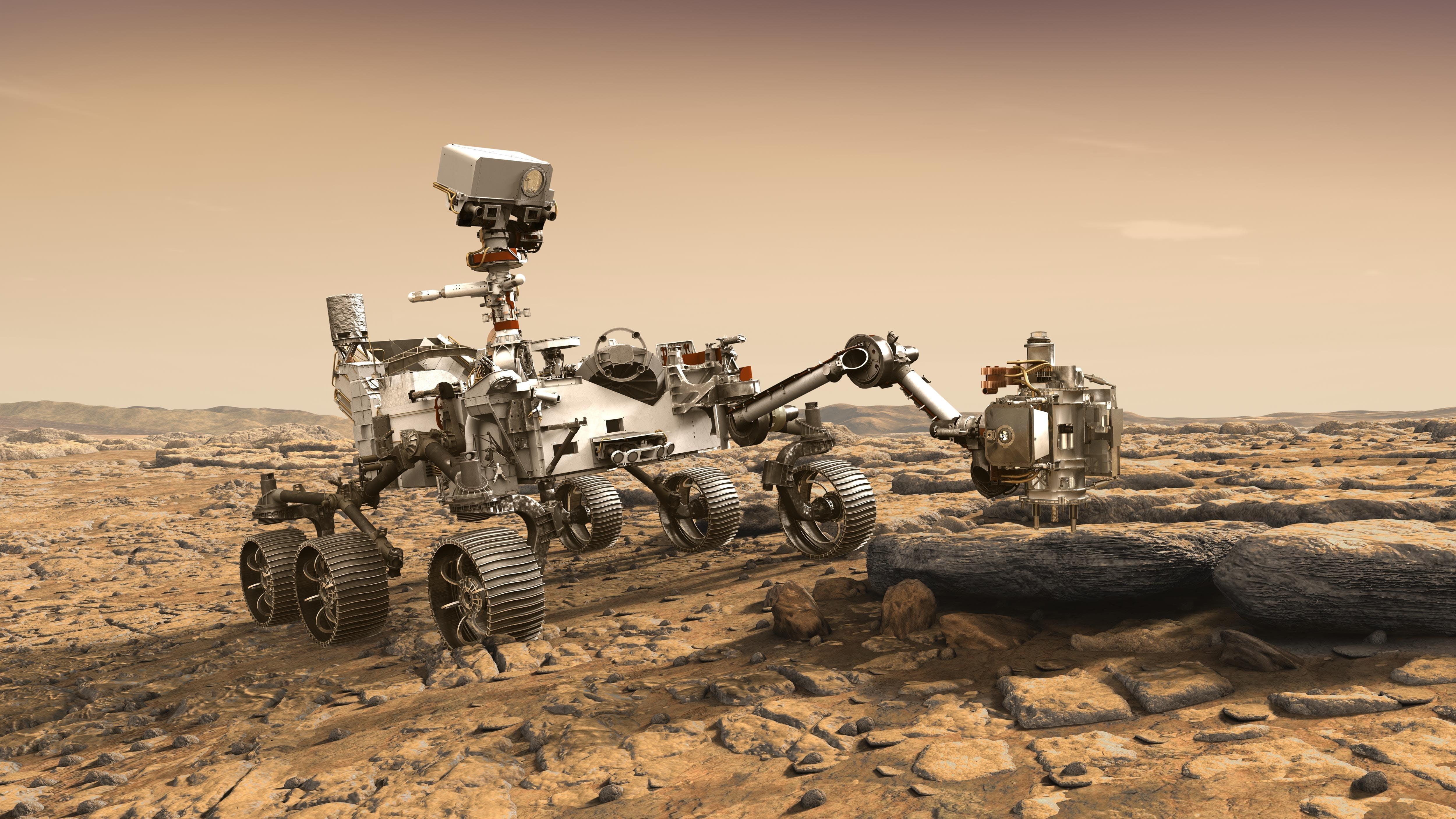 Nasas rover ska hitta liv på Mars