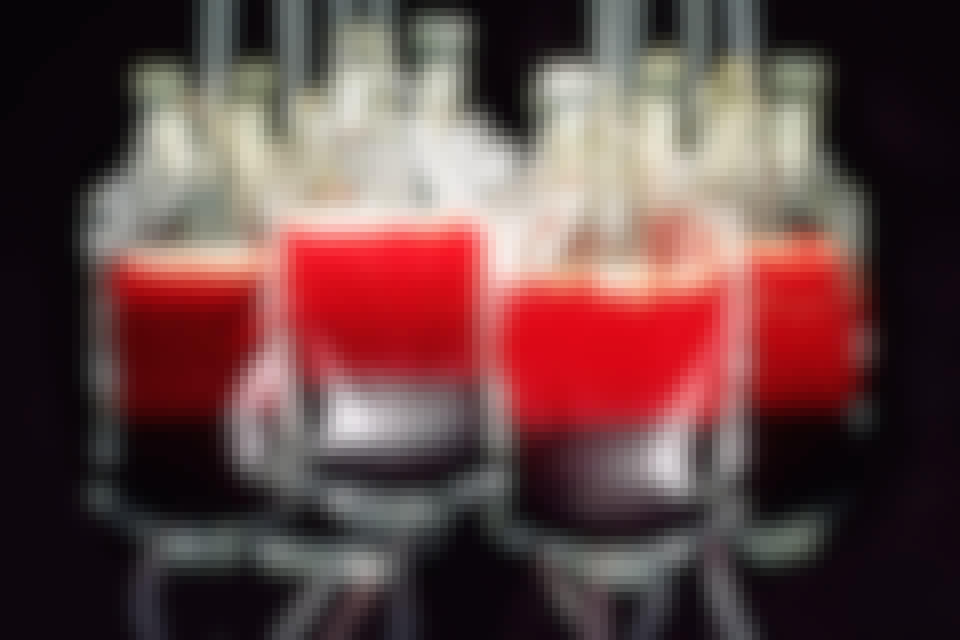 Blodpåsar med olika blodgrupper