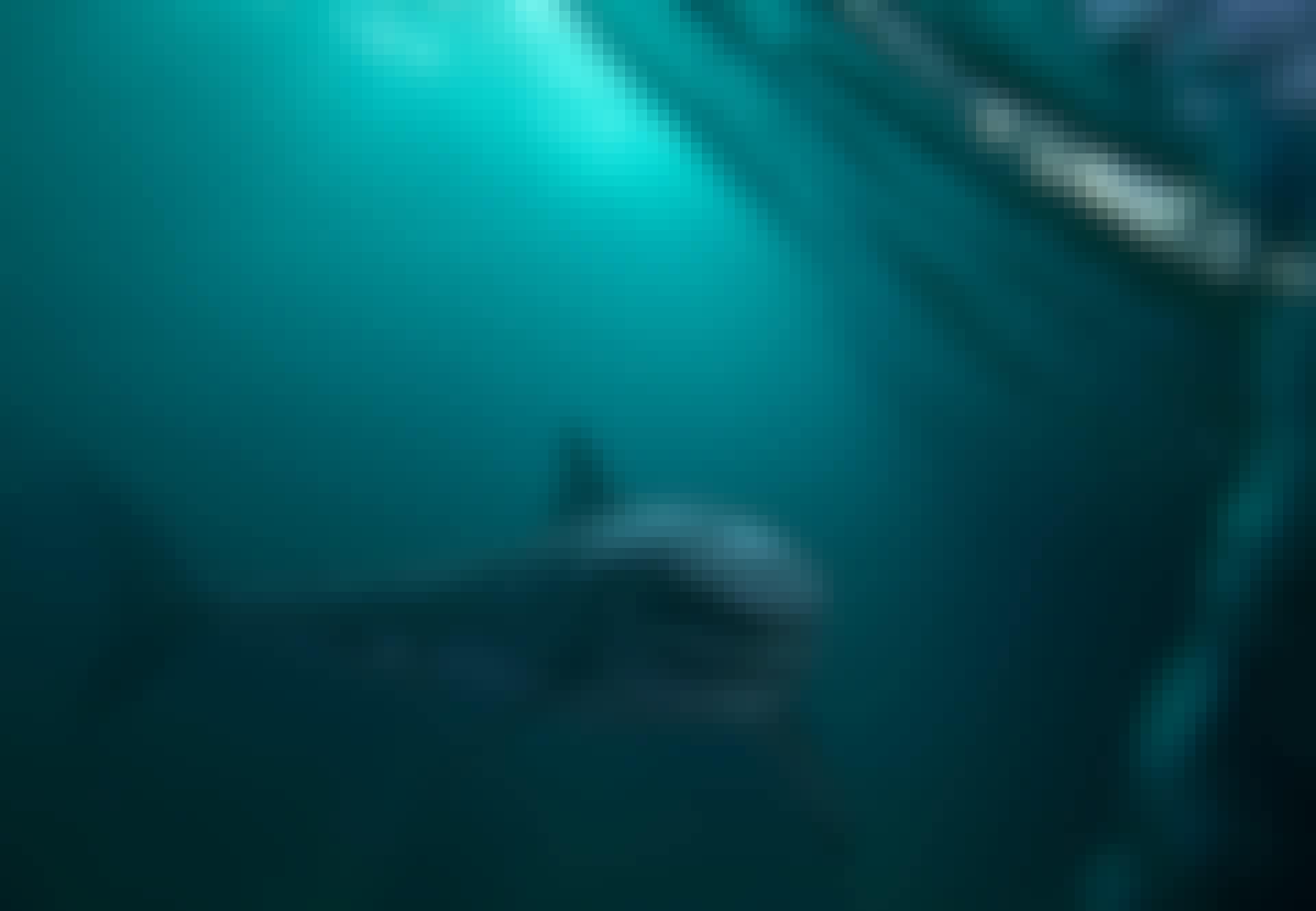 Haai zwemt in de diepte
