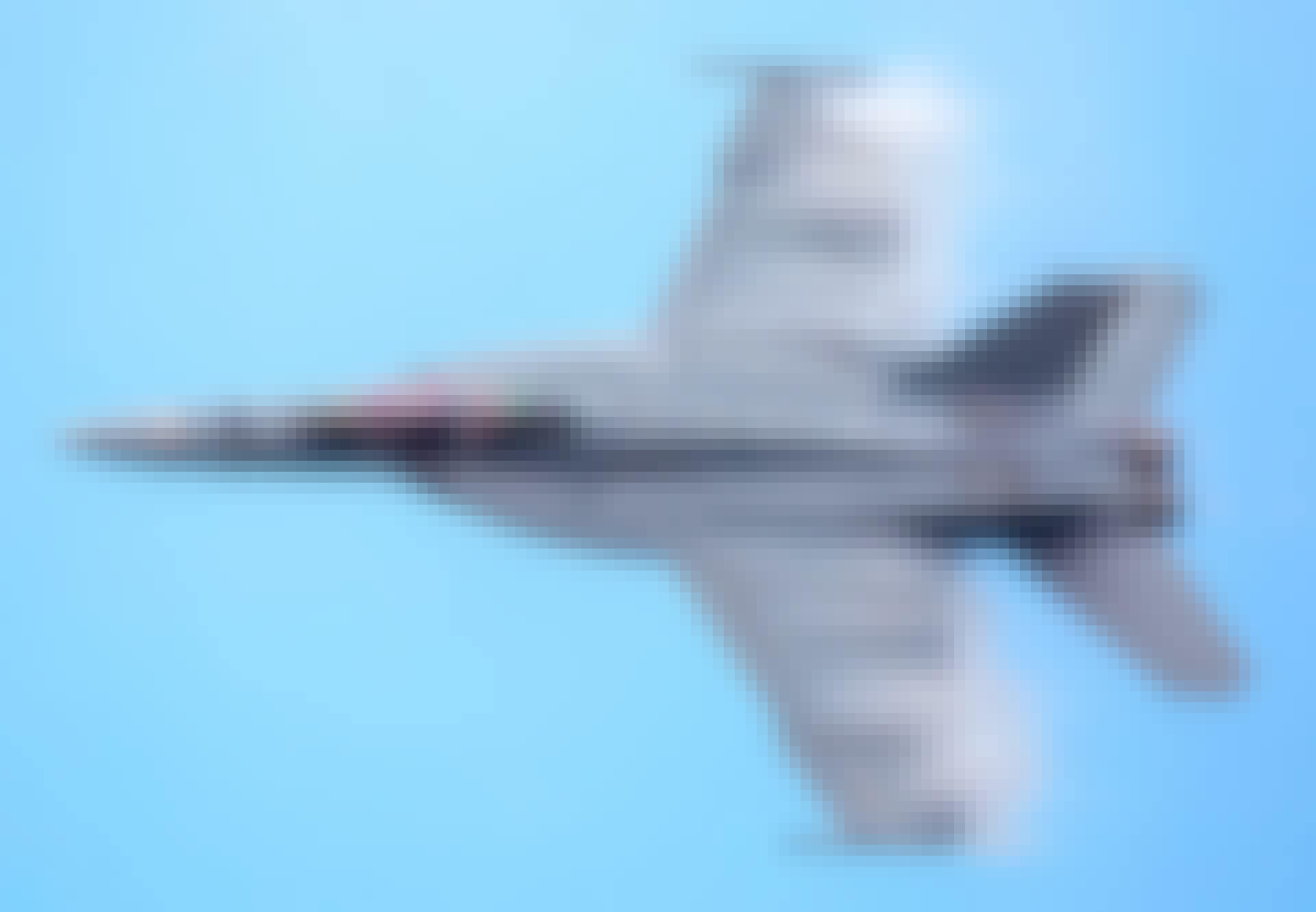 Vliegtuigen kunnen de snelheid van het geluid overschrijden.
