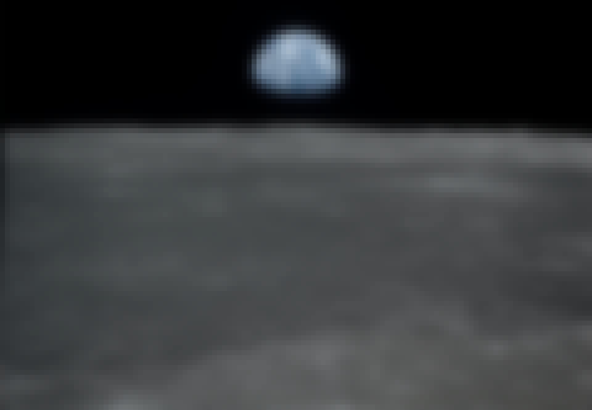 Månens overflade og Jorden set fra Apollo 11, 1969