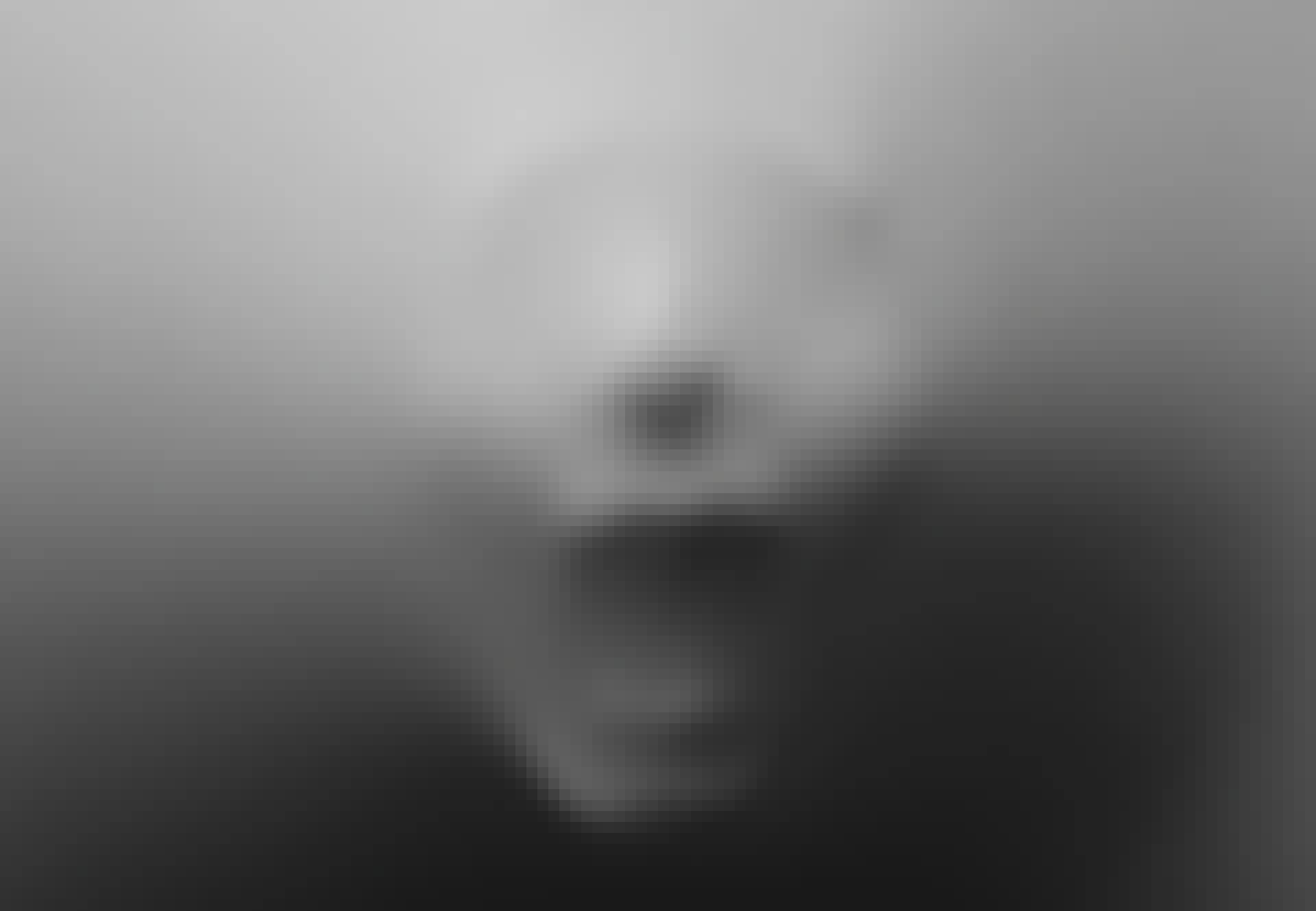 Ansikte som skriker
