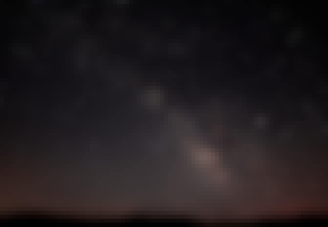 Stjernebilleder på nattehimlen