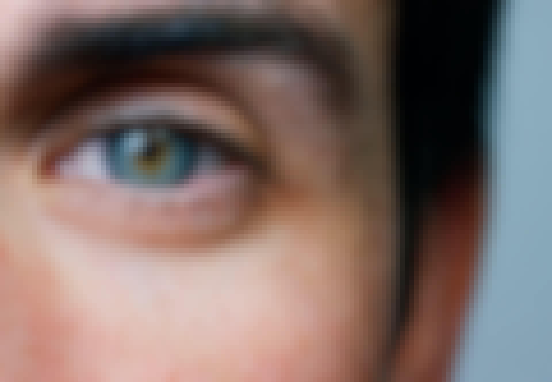 Man die goed is in het herkennen van gezichten