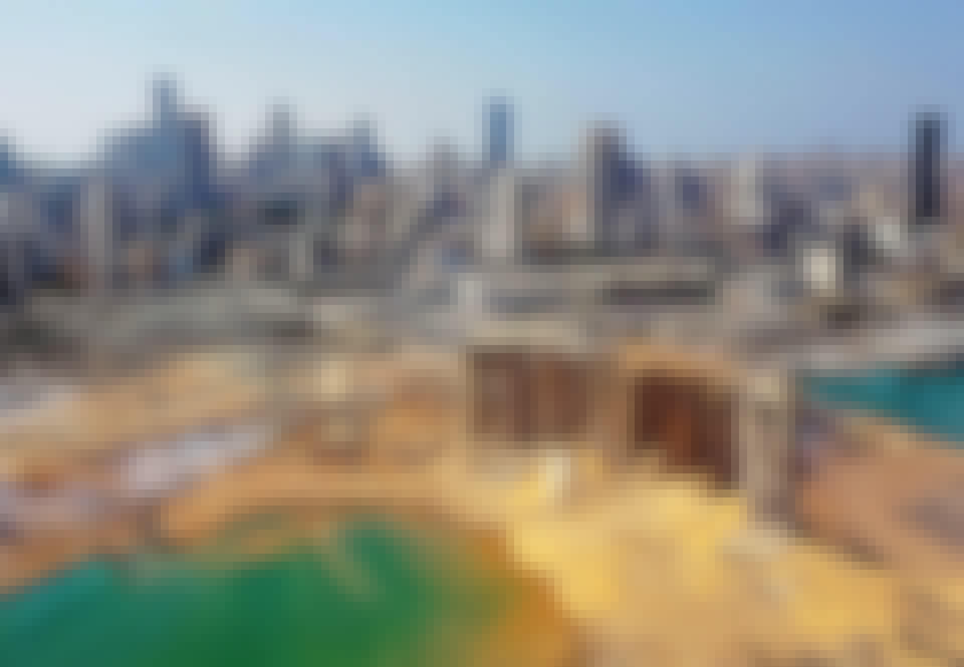 Beirut ligger i ruiner efter eksplosoin med gødning på havnen