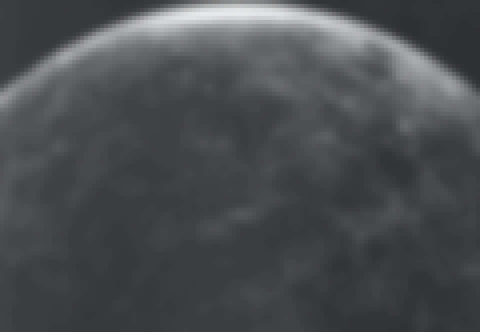 Et radarbillede af overfladen på Venus taget af Areciboteleskopet