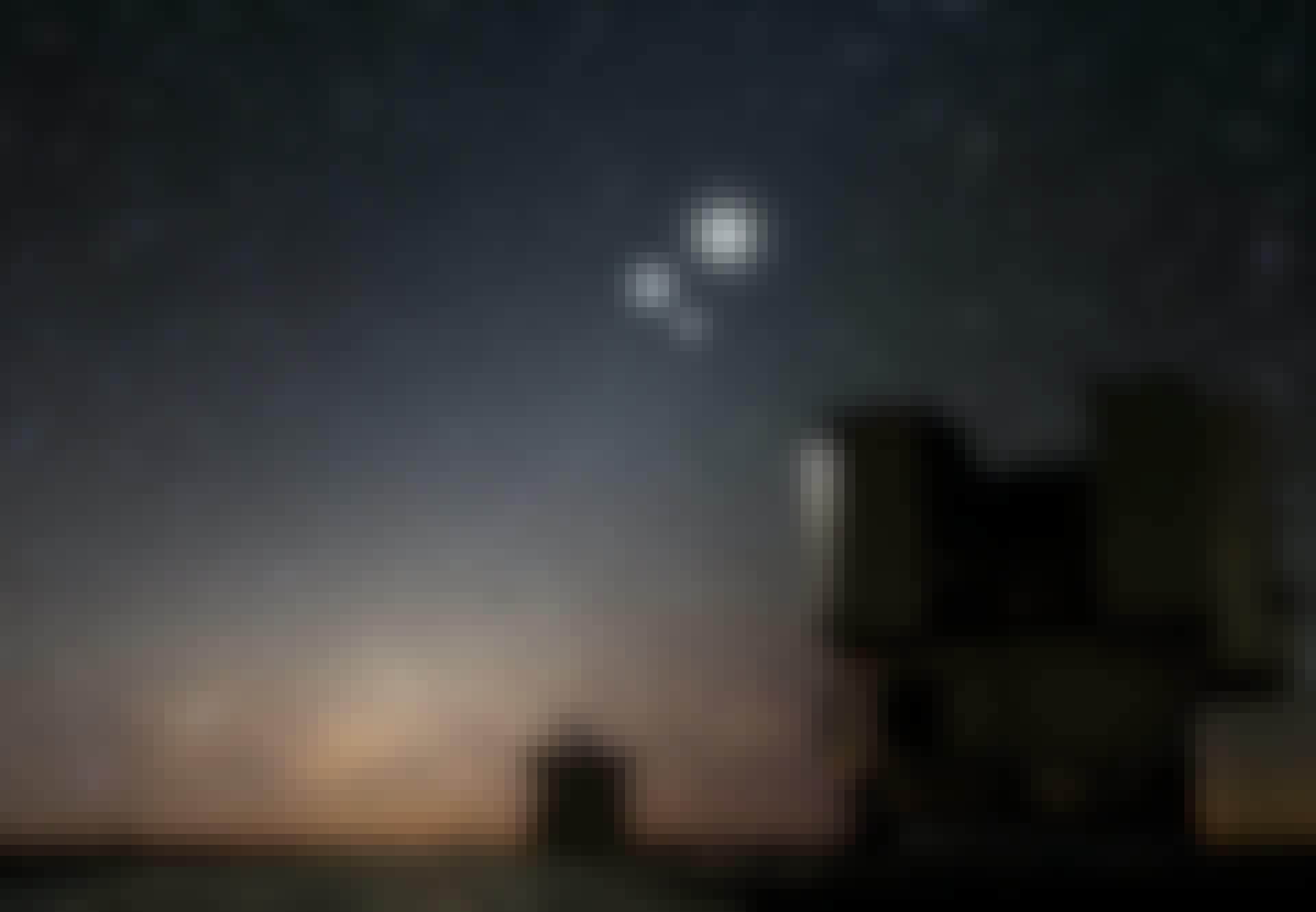Saturn og Jupiter mødes i en konjunktion 21. december 2020