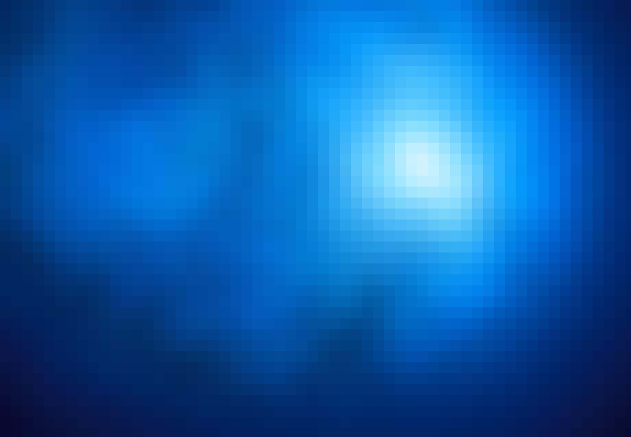 Havet - Blått hav med stim av fisk