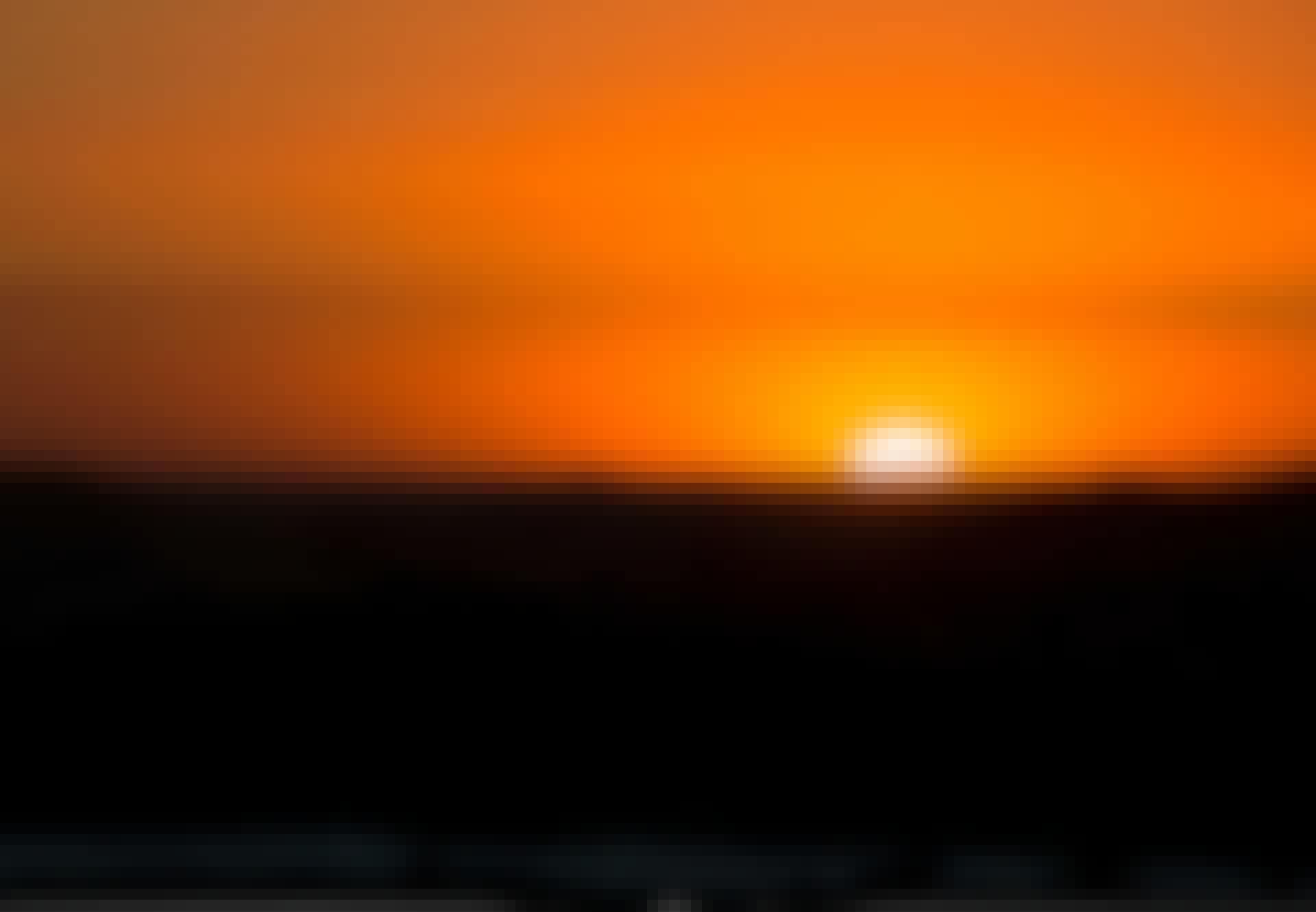 Sommertid - solopgang