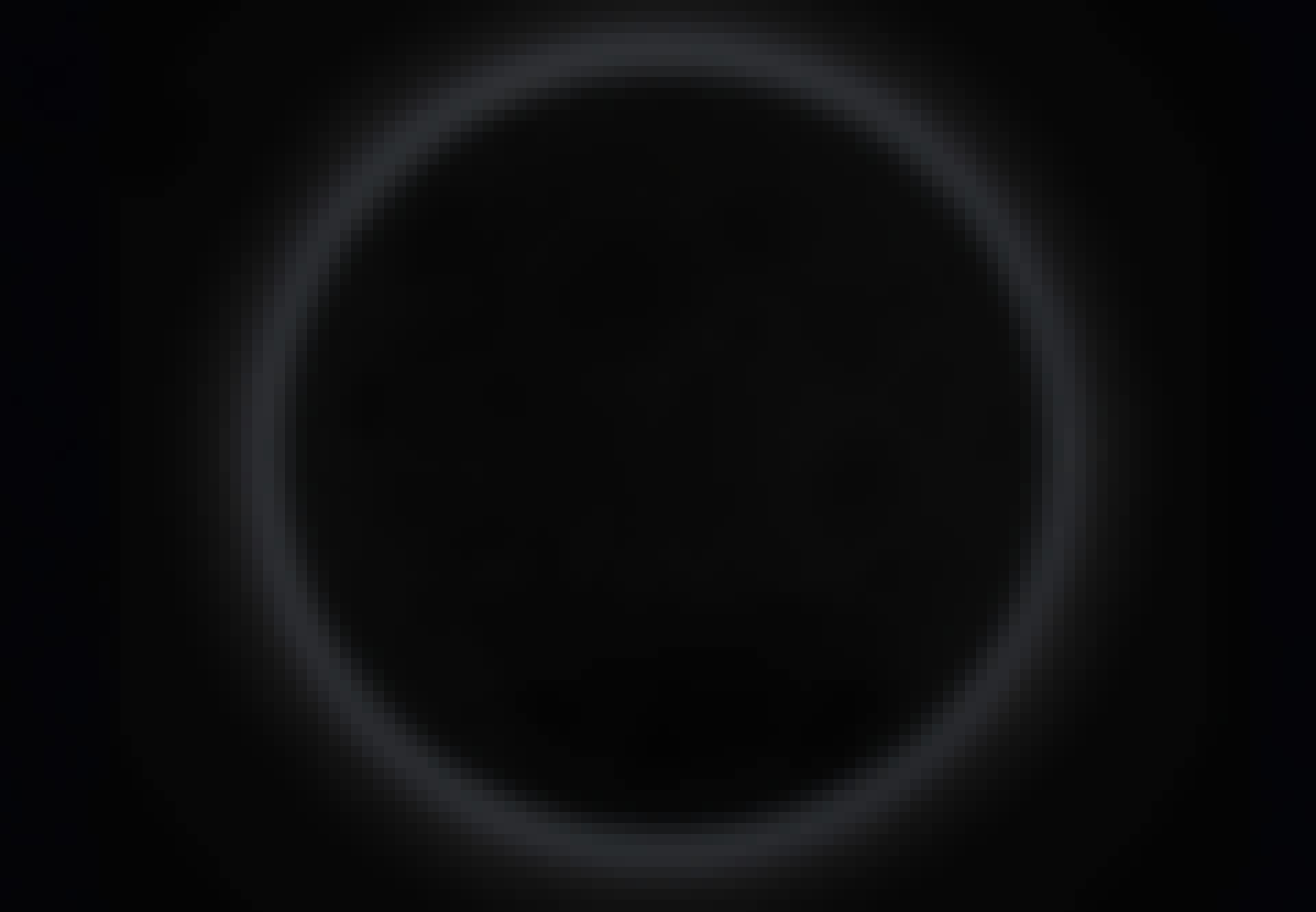 Nymåne på himlen