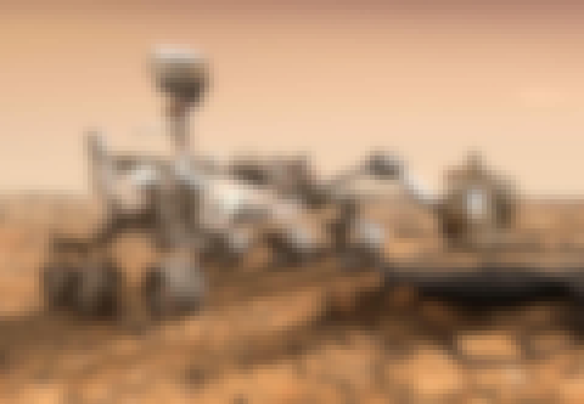 Perseverance på Mars