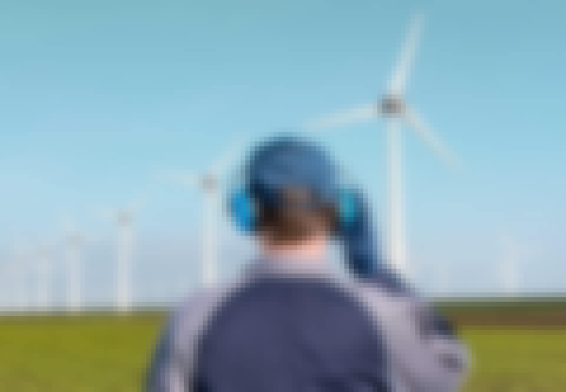Vindkraftverk hörselskydd