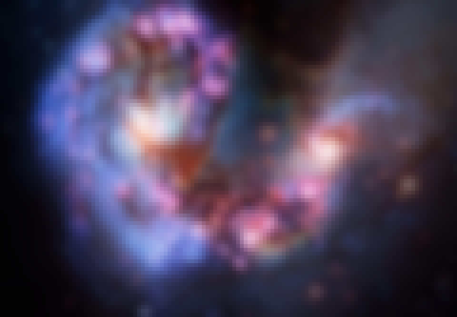 Kuva kaukaisesta galaksista