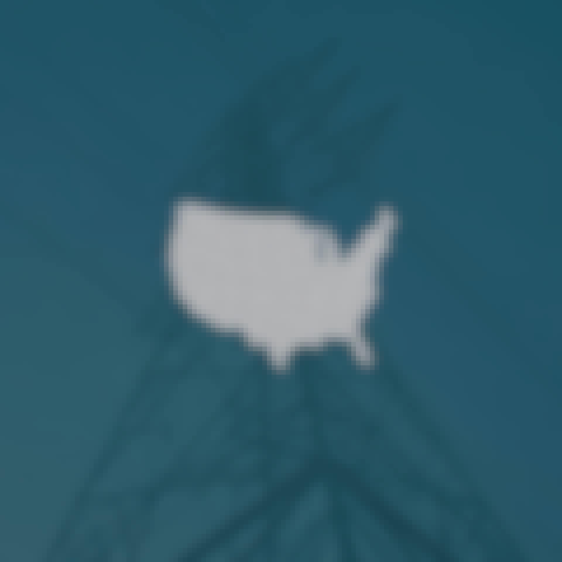 Kort over USA