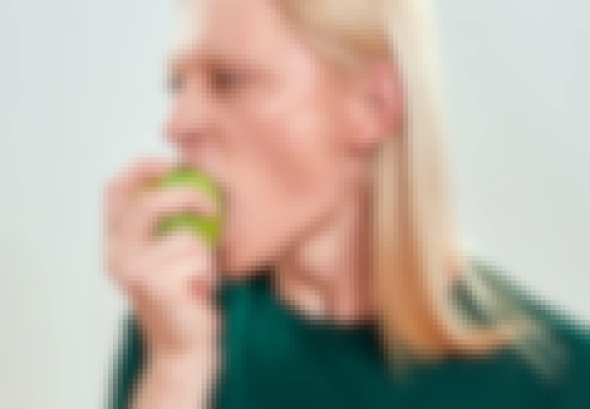 bid af æble
