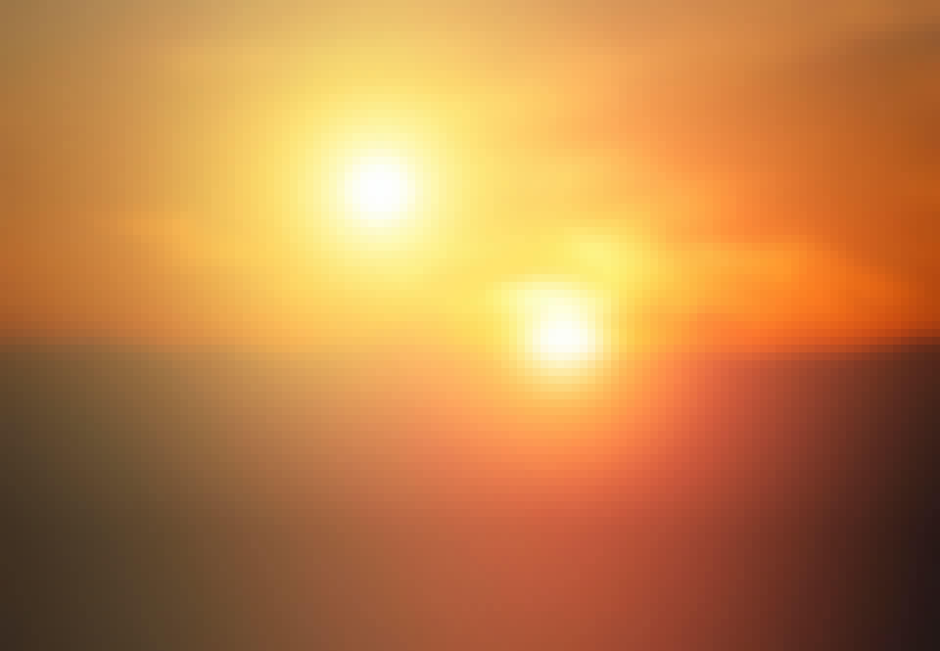 dubbele zonsondergang