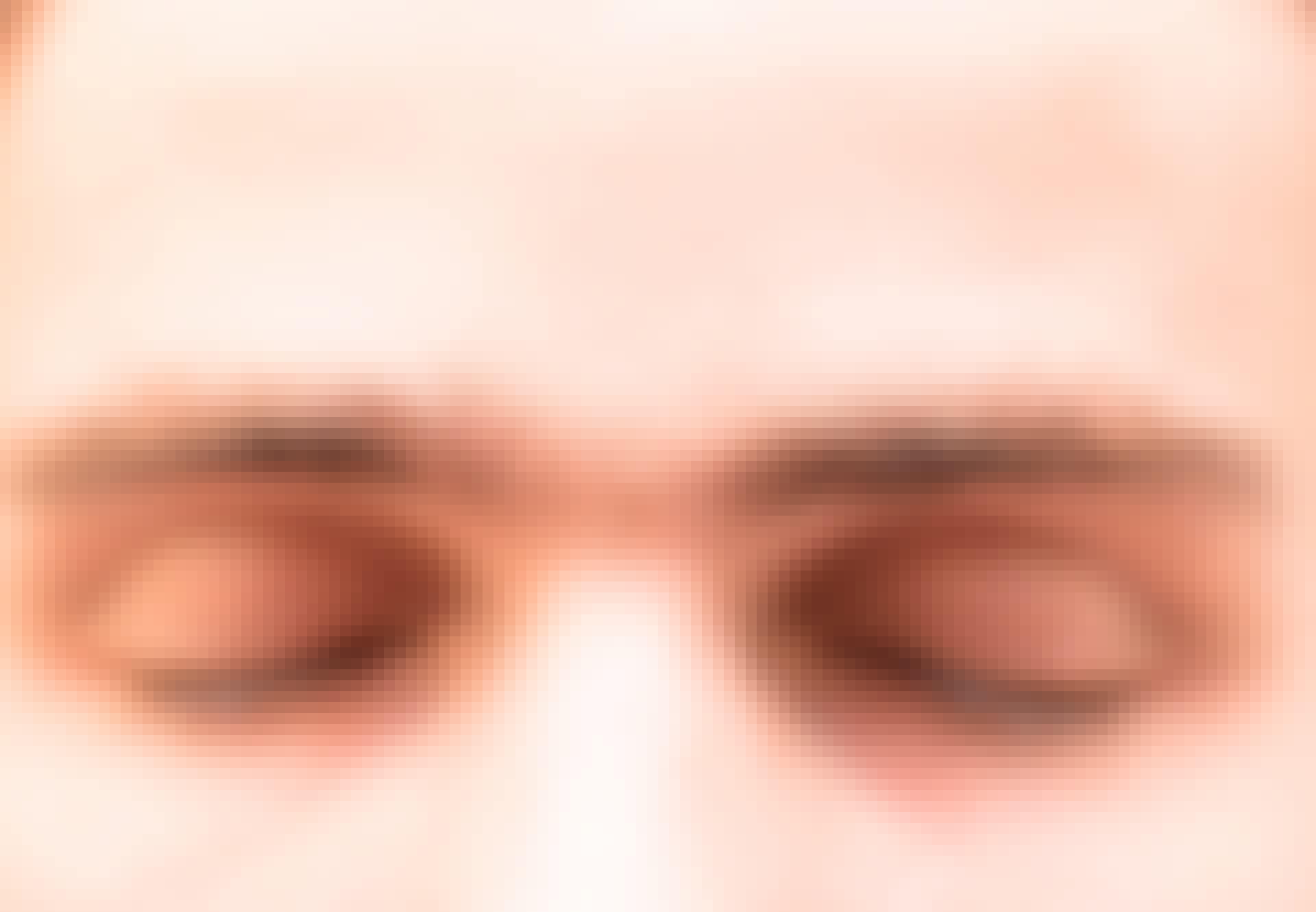 øjenbryn, mand