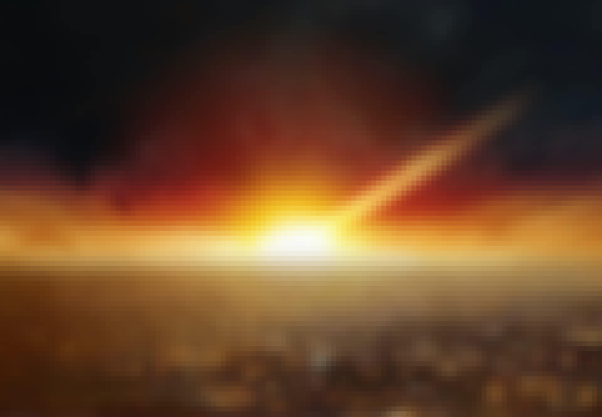 Asteroid träffar jorden