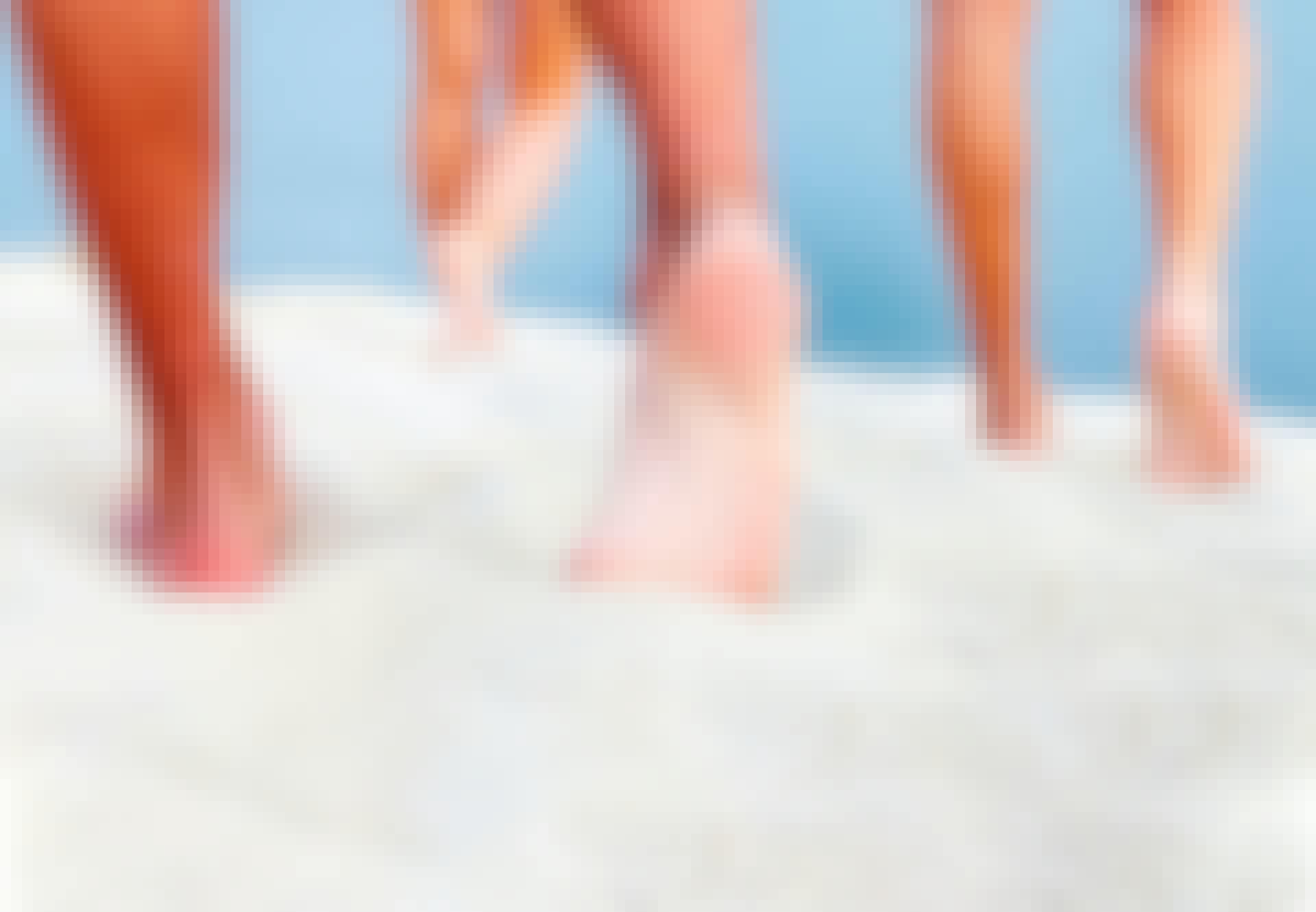 sandstrand varmt sand