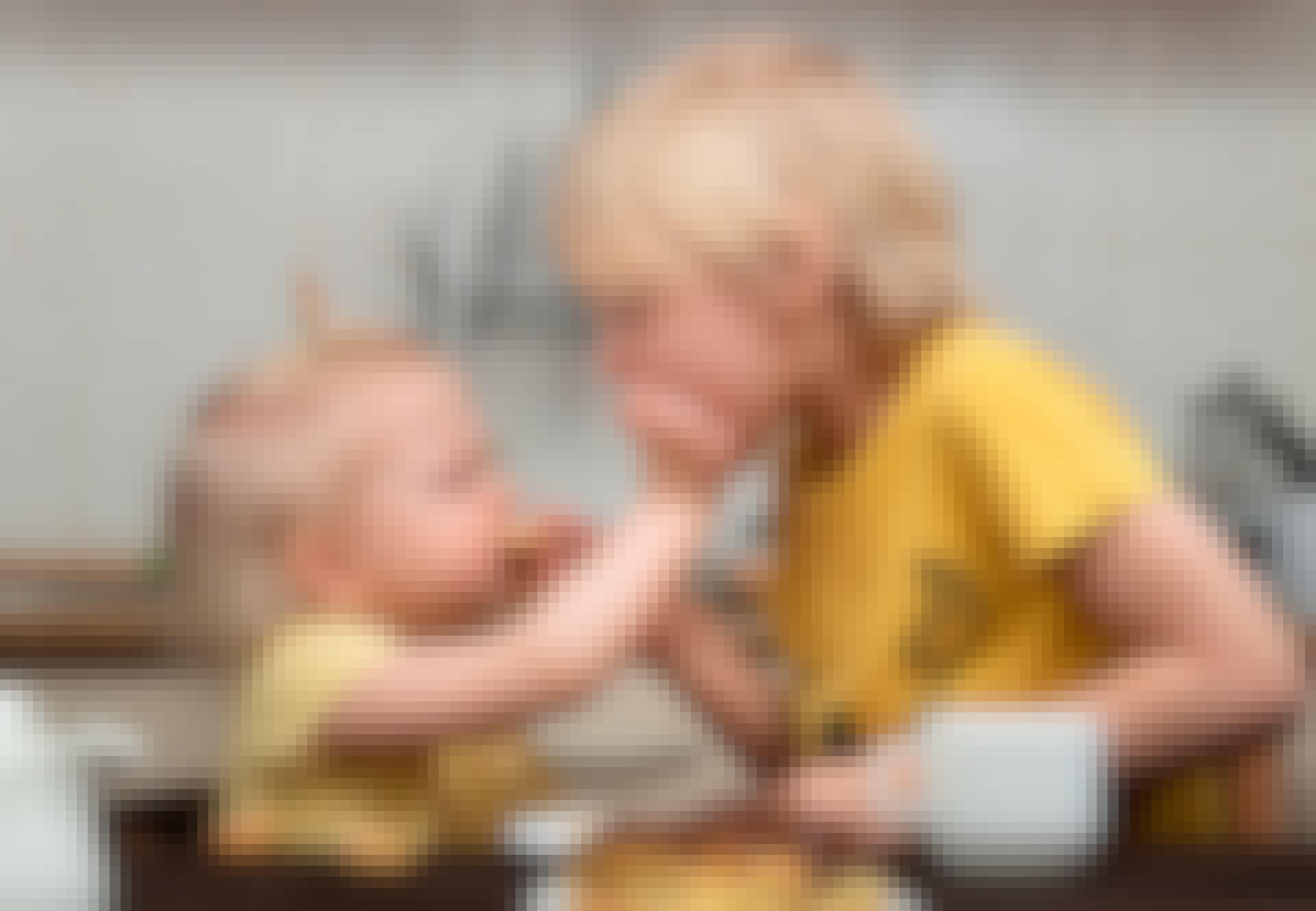 slægtninge - gener - børn køkken