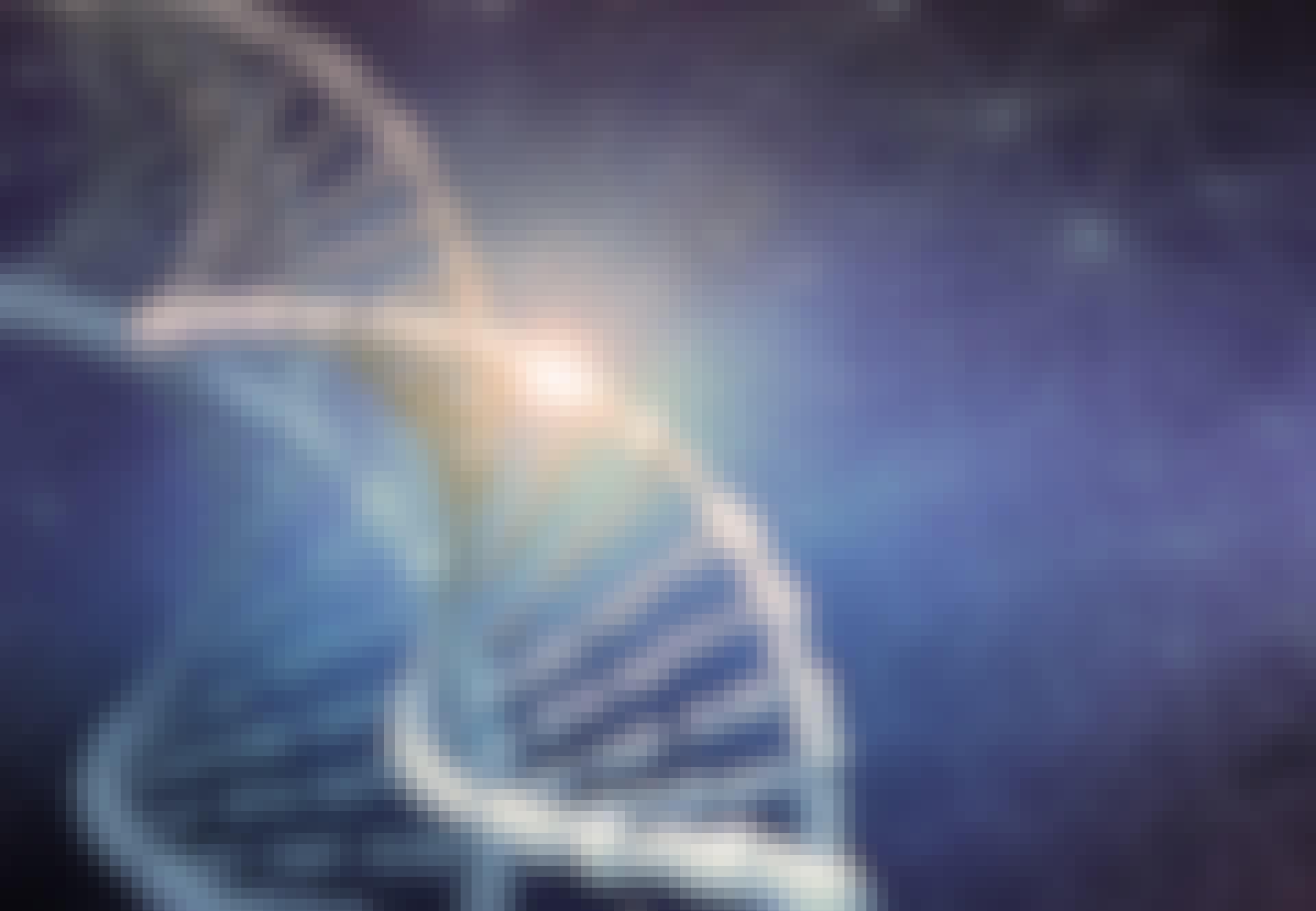 DNA-strenge med en enkel mutation