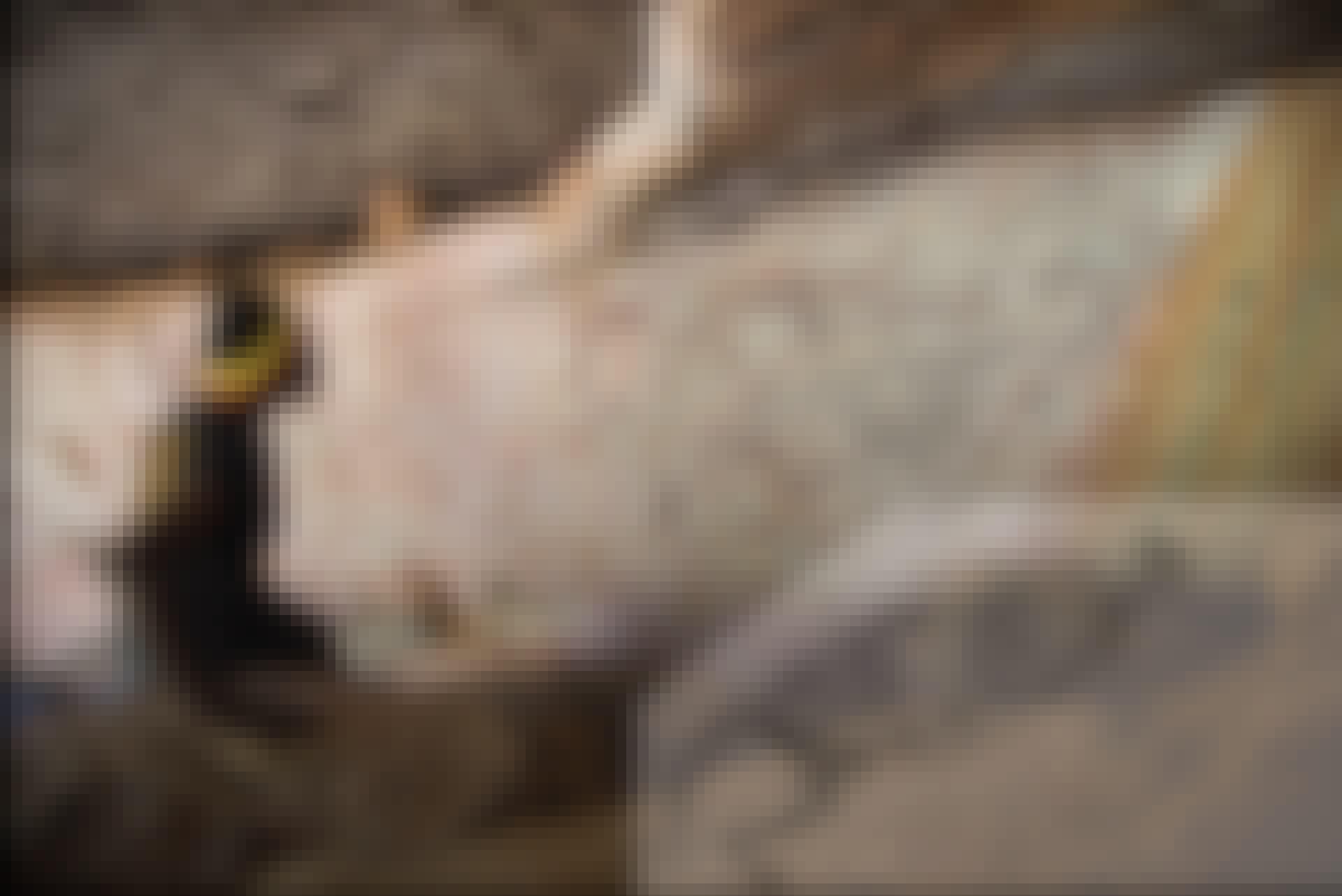 känguru, målning, grottmålning, Australien, stenmålning