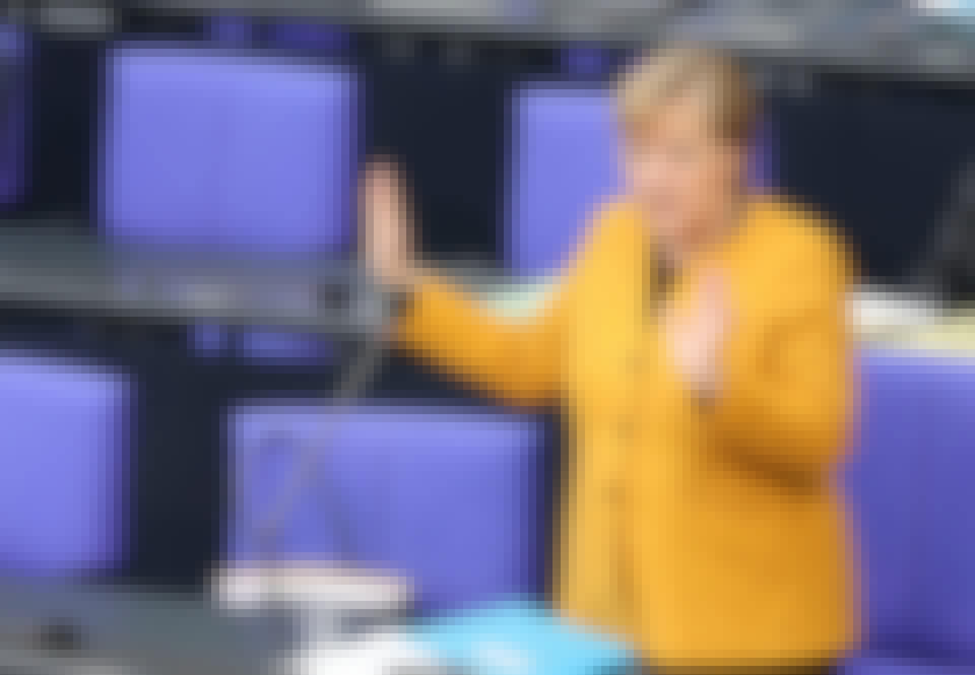 Forbundskanslerinde Angela Merkel